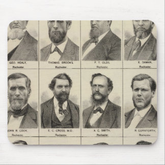 Portrait of Early Settlers and Farmers, Minnesota Mouse Pad