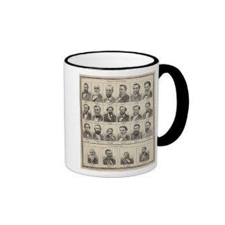 Portrait of Early Settlers and Farmers, Minnesota Coffee Mugs