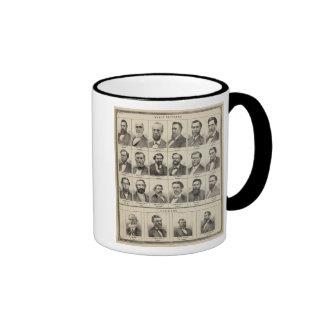 Portrait of Early Settlers and Farmers, Minnesota Coffee Mugs