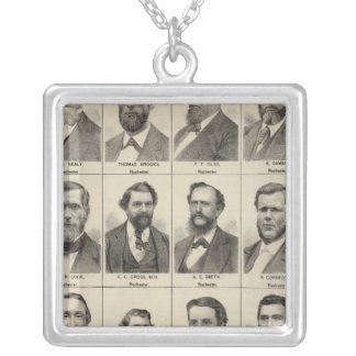 Portrait of Early Settlers and Farmers, Minnesota Necklaces