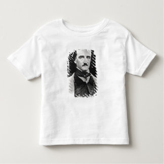 Portrait of Edgar Allan Poe Toddler T-Shirt