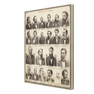 Portrait of Editors and Exeditors, Minnesota Canvas Print