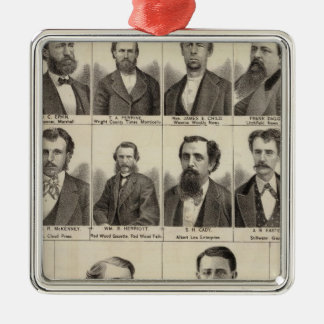 Portrait of Editors and Exeditors, Minnesota Christmas Ornament