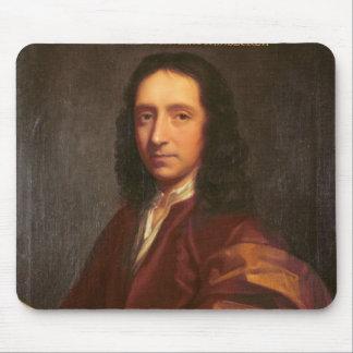Portrait of Edmond Halley c 1687 Mousepads