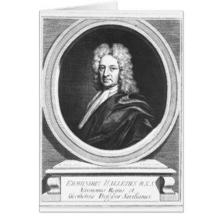 Portrait of Edmond Halley Card