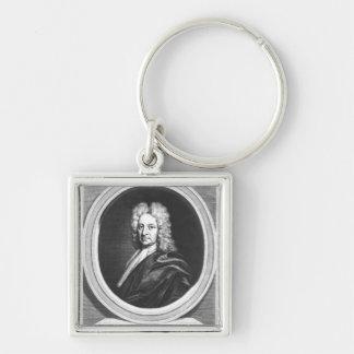 Portrait of Edmond Halley Key Chain