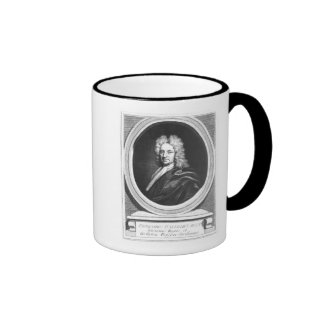 Portrait of Edmond Halley Mugs