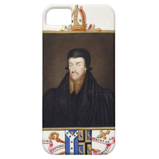 Portrait of Edmund Grindal (c.1519-83) Archbishop Barely There iPhone 5 Case