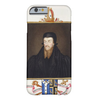 Portrait of Edmund Grindal (c.1519-83) Archbishop Barely There iPhone 6 Case