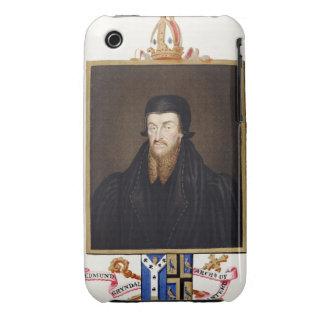 Portrait of Edmund Grindal (c.1519-83) Archbishop iPhone 3 Cover