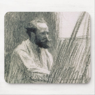 Portrait of Edouard Manet  at his Easel Mouse Pad