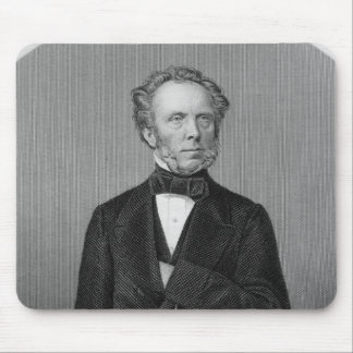 Portrait of Edward Baines Mouse Pad
