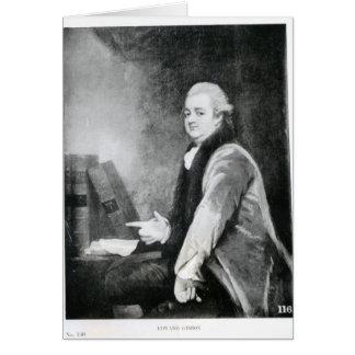 Portrait of Edward Gibbon Card
