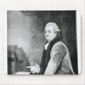 Portrait of Edward Gibbon Mouse Mat
