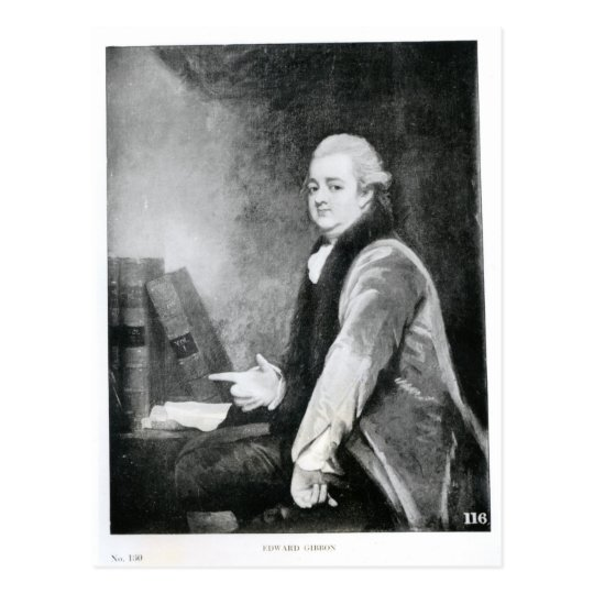 Portrait of Edward Gibbon Postcard