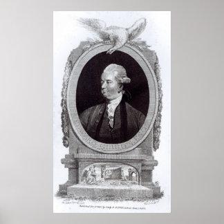 Portrait of Edward Gibbon Poster