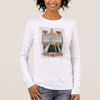 Portrait of Edward III (1312-77) King of England f Long Sleeve T-Shirt