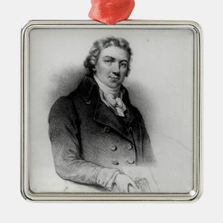 Portrait of Edward Jenner Christmas Ornament