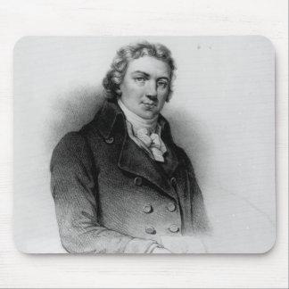 Portrait of Edward Jenner Mouse Mat