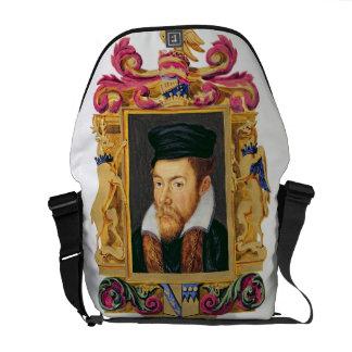Portrait of Edward Stanley (1508-72) 3rd Earl of D Commuter Bags