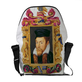 Portrait of Edward Stanley (1508-72) 3rd Earl of D Messenger Bags