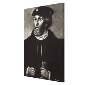 Portrait of Edward, Third Duke of Buckingham Canvas Print