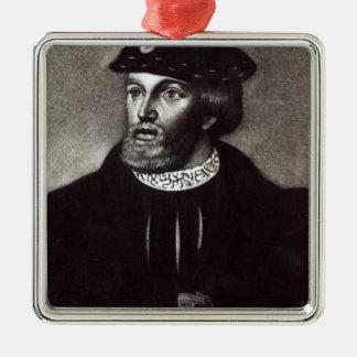 Portrait of Edward, Third Duke of Buckingham Christmas Ornament