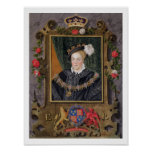 Portrait of Edward VI (1537-53) King of England, a Poster