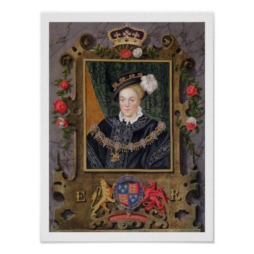 Portrait of Edward VI (1537-53) King of England,