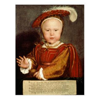 Portrait of Edward VI as a child, c.1538 Postcard