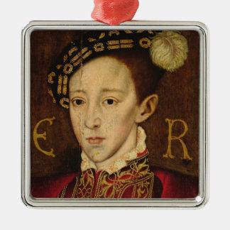 Portrait of Edward VI Christmas Ornament
