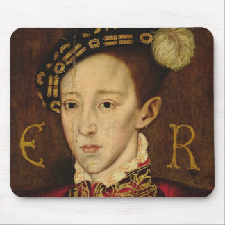 Portrait of Edward VI Mouse Pad