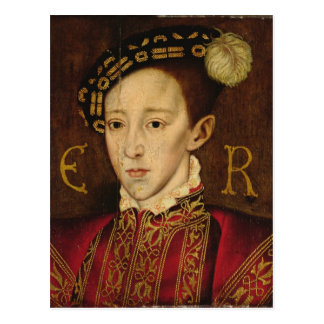 Portrait of Edward VI Postcard