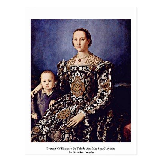 Portrait Of Eleonora Di Toledo By Bronzino Angelo