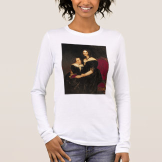Portrait of Eliza Boardman and her son, Robert, 18 Long Sleeve T-Shirt