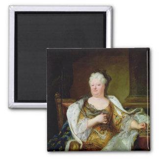 Portrait of Elizabeth Charlotte of Bavaria Square Magnet