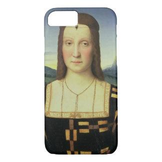 Portrait of Elizabeth Gonzaga, c.1504 (oil on pane iPhone 7 Case