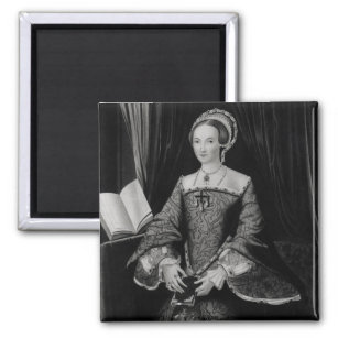 Portrait of Elizabeth I when Princess  c.1546 Magnet