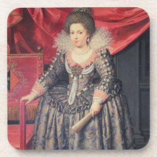 Portrait of Elizabeth of France (1602-44) daughter Coasters