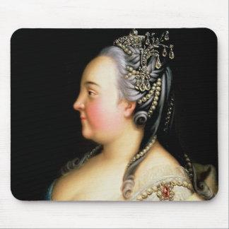 Portrait of Elizabeth Petrovna  Empress Mouse Pad