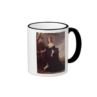 Portrait of Elizabeth, Queen of Bohemia Coffee Mugs