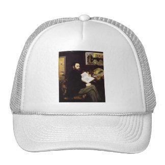 'Portrait of Emile Zola' Cap