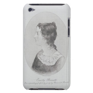 Portrait of Emily Bronte (1818-48) engraved by Wal iPod Touch Case-Mate Case