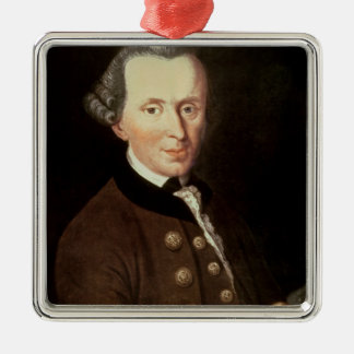 Portrait of Emmanuel Kant Christmas Ornament