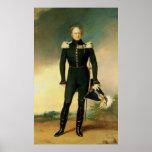 Portrait of Emperor Alexander I  1825 Posters