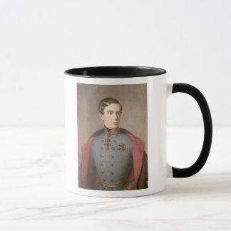 Portrait of Emperor Franz Joseph of Austria Mug
