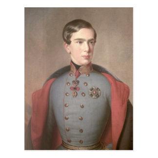 Portrait of Emperor Franz Joseph of Austria Postcard