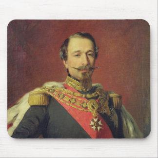 Portrait of Emperor Louis Napoleon III Mouse Pad