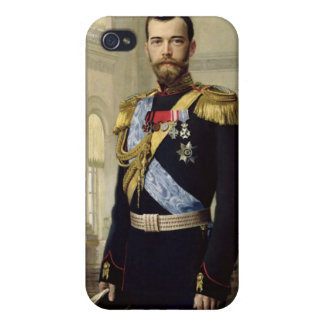 Portrait of Emperor Nicholas II, 1900 iPhone 4 Case