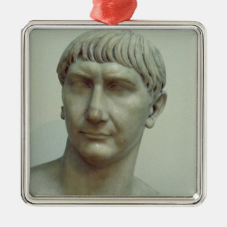 Portrait of Emperor Trajan Christmas Ornament
